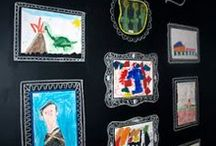 Kids Art - Display Ideas