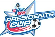 Presidents Cup / The US Youth Soccer Presidents Cup provides a progressive, competitive experience to US Youth Soccer teams from the state to regional to national level.  The Presidents Cup gives players an additional opportunity to compete against teams from across the country, at a high level, for the joy and the challenge of the game.  It provides the chance to experience a unique US Youth Soccer event with camaraderie, community and competition through sport.