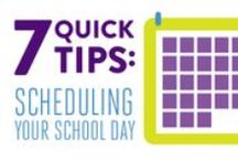 Time Management Tips / Ideas for staying focused and managing time wisely in an online school.  / by K12