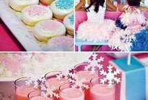 Snow Princess Party Ideas / Ideas for a snow or snowflake princess party