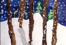 Kids Art - Winter