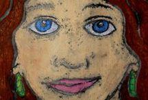 Kids Art - Portraits