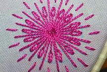 Wool Embroidery / The combination of wool and embroidery is wonderful. So, I'll post embroidery and wool ideas that inspire me.