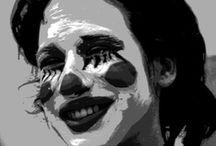 Face painting / Le pitture facciali di Henri Olama