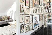 gallery walls / by Lindsay Stephenson
