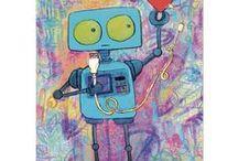 Kids Art - I am a Robot!