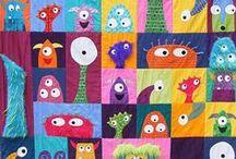 Kids Art - Monsters!