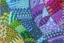 Zentangles / Love the doodles / by Hen & Chicks Studio