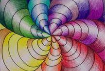 Kids Art - Optical Illusions