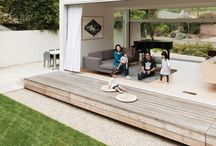 decks + patios / by Lindsay Stephenson