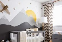 Baby Nursery Inspiration / Baby Nursery Ideas