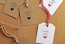 Gift Packaging / Ideas for packaging food and homemade items for gifts