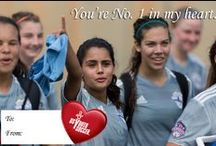 Vday Cards / With Valentine's Day around the corner, share the love with a US Youth Soccer card!