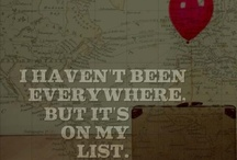 Oh the places you'll go... / Places I want to see / by Blaire H.