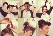 HmeTsk: BeauTips DIY / hairstyles, art nails and other easy-do tips for yourself