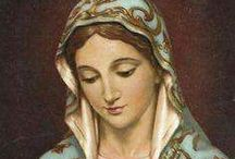 MARY~Mother of GOD / This is a  page to honor the Holy Mother.  I don't know how to pray the rosary...heck, I'm not even Catholic, but, I love the Blessed Mother.