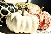 ~GOURDS, PUMPKINS & FRIENDS~ / Decorationg with gourds, pumpkins, squash and corn.