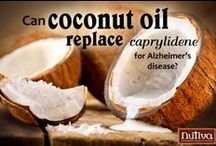 NUTS FOR COCONUT / I've done some research on the nutritional value of coconut oil and other coconut products.products.  I drink my morning coffee with coconut oil and local raw honey.  I am now interested in MCT oil.