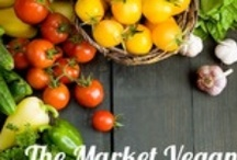 """The Market Vegan"" recipes & reviews / by Laura Gesin"