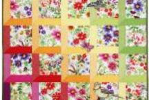 QUILTS / I go for the easiest quilts and have made a few.  I like rag quilts and quilt as you go quilts.  I envy those with the patience to do the intricate designs.