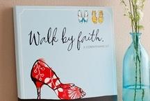 FAITH WALKING  / We walk by faith not by sight.