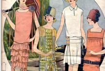 Interwar Chic / As much as I love the 1920s jazz fashion I am beginning to fall for the 1930s era of fashion... I have decided to combine these decades