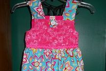 MY LITTLE DRESSES / These are dresses that I have created for charity and other things I have made.