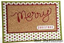 Stampin' Up Christmas Cards: MMM 2013 / Making Merry Monday Christmas Cards 2013