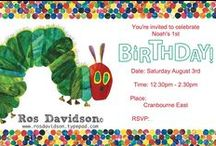 Stampin' Up! invitations / Invitations made by me using Stampin' Up! products