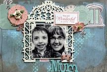 All things Scrapbooking and Pages / Great examples of using chipboard in papercrafting.