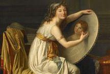 portrait of a lady / by MlledeCrevecoeur Dashwood