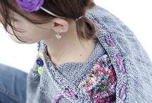 Knit, crochet