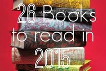 26 book challenge / I am going through a 26 book challenge for 2015...Here are some suggestions of books I have found.  / by Blaire H.