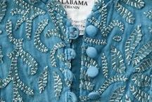 ALABAMA CHANIN STYLE / I just discovered Alabama (Natalie) Chanin even though I've lived in Alabama all my life.  I'm obsessed...ordered one of her books.  I think I can make a tank top or corset.