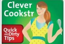 Clever Cookstr Podcast! / Join the ultimate fun, fast-paced, authoritative source of information on what's hot in the world of food and cooking. Get a peek inside the kitchens of the world's best chefs! - See more at: http://www.quickanddirtytips.com/clever-cookstr#sthash.0gqIL8EI.dpuf / by Cookstr
