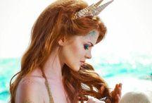 Mermaid Land / SIRENES... Le merveilleux monde des sirènes.. / by Amandine Deroo