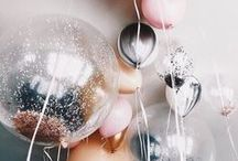 Party Decor / all about decorating the table, making menu cards and napkin foldings