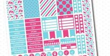 FREE printables / New FREE printable products are going to be added daily. Everything from stickers, banners, baby shower games, clipart, digital paper, party favors...etc. Enjoy!