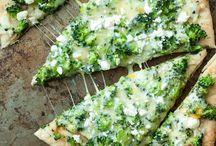 Pizzen/Fladen