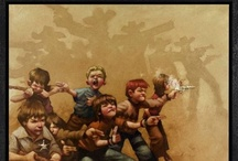 Craig Davison / Artist Biog:  I was born in 1965 in Sheffield and have enjoyed drawing for as long as I can remember. Art was my favourite subject at school, but once I left I took it no further. In the late 80's I managed to get a job as a cartoonist, working on pre-school comics. I drew comic strips of a variety of characters including The Shoe People, The Wombles, Huxley Pig and Bangers and Mash