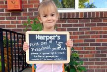 first day of preschool photo