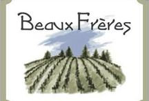 Beaux Freres, Oregon / Since their inaugural vintage in 1991 the goal at Beaux Frères has been to produce a world class Pinot from small, well-balanced yields and ripe, healthy fruit that represents the essence of their vineyard.