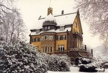 Villa Huesgen, Mosel, GERMANY / Adolph Huesgen traces his family's winemaking heritage in the Mosel back to 1735: he is the ninth generation. The family's base is a beautiful Art-Nouveau house in Traben-Trarbach.