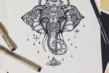 tattoos / by Angelina Carrasco