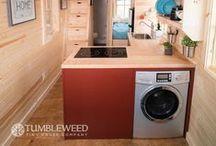 tiny home: laundry