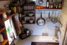 tiny home: kitchen