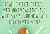 be grateful project / a collaborative space where my close friends and I can share words of encouragement