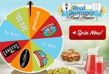 Real Summer. Real Flavor. 2015 / SPIN for your chance to INSTANTLY WIN $100,000 or one of over 4,000 other summer prizes from Challenge Butter, NEW Challenge Cream Cheese, Good Cook, Mrs. Cubbison's Salad Toppings and Langers Juice. Each time you spin the wheel you are entered into the $10,000 Sweepstakes drawing at the end of summer!  / by GoodCook