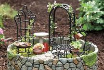 Miniature gardens / If you don't have enough space at home to grow your own garden, don't worry, you can create incredible tiny fairy tale landscapes. The only thing you need is imagination. Get some inspiration and craft your  miniature garden!