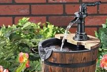 Water gardens / Add some water flow to your yard with water gardens! Get inspiration to create beautiful fountains and lovely secret gardens at home!